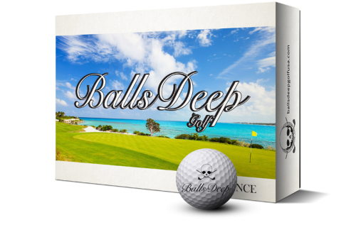 Balls Deep Golf - Distance Balls