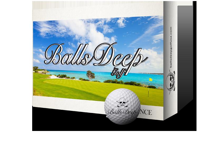Balls Deep Golf - Distance Balls
