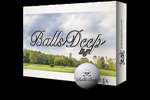 Balls Deep Golf - T4X Balls