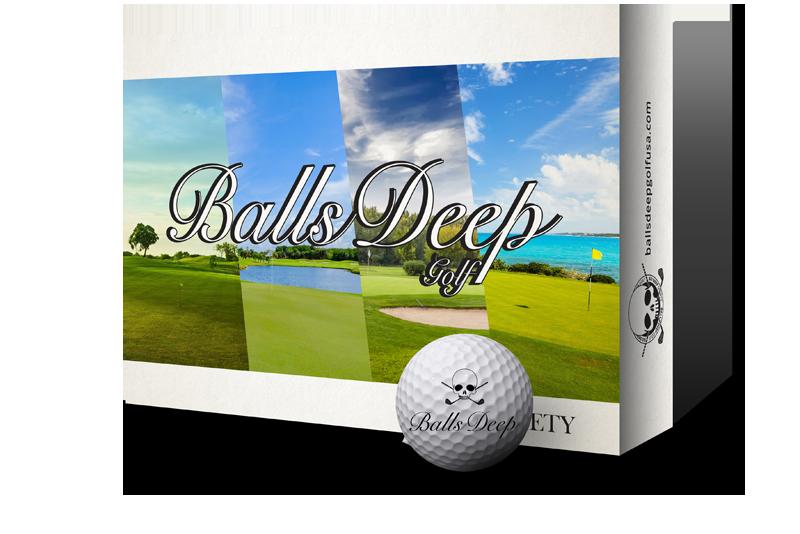 Balls Deep Golf - Variety Balls